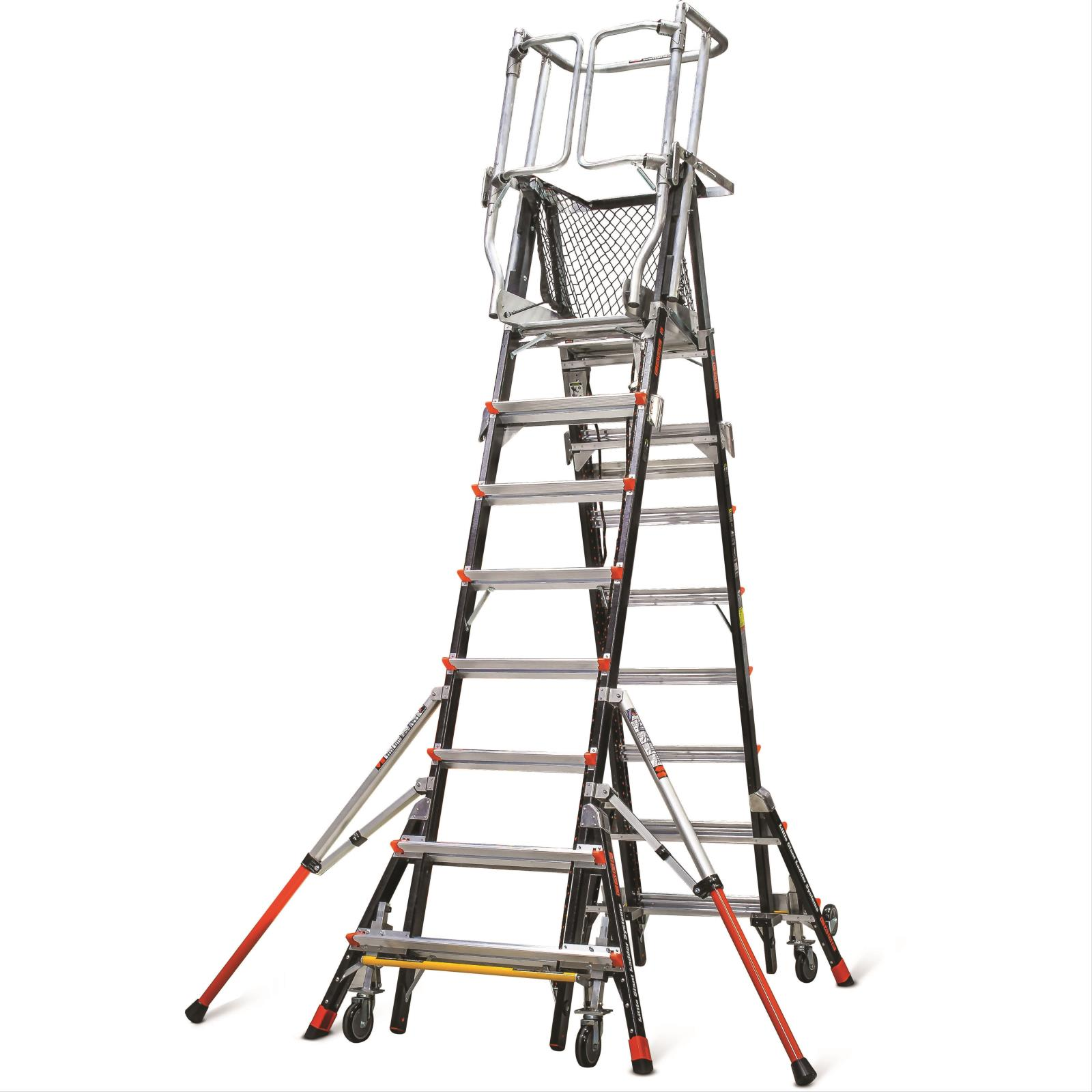 Safety Products Inc Aerial Safety Cage Ladder 18503240
