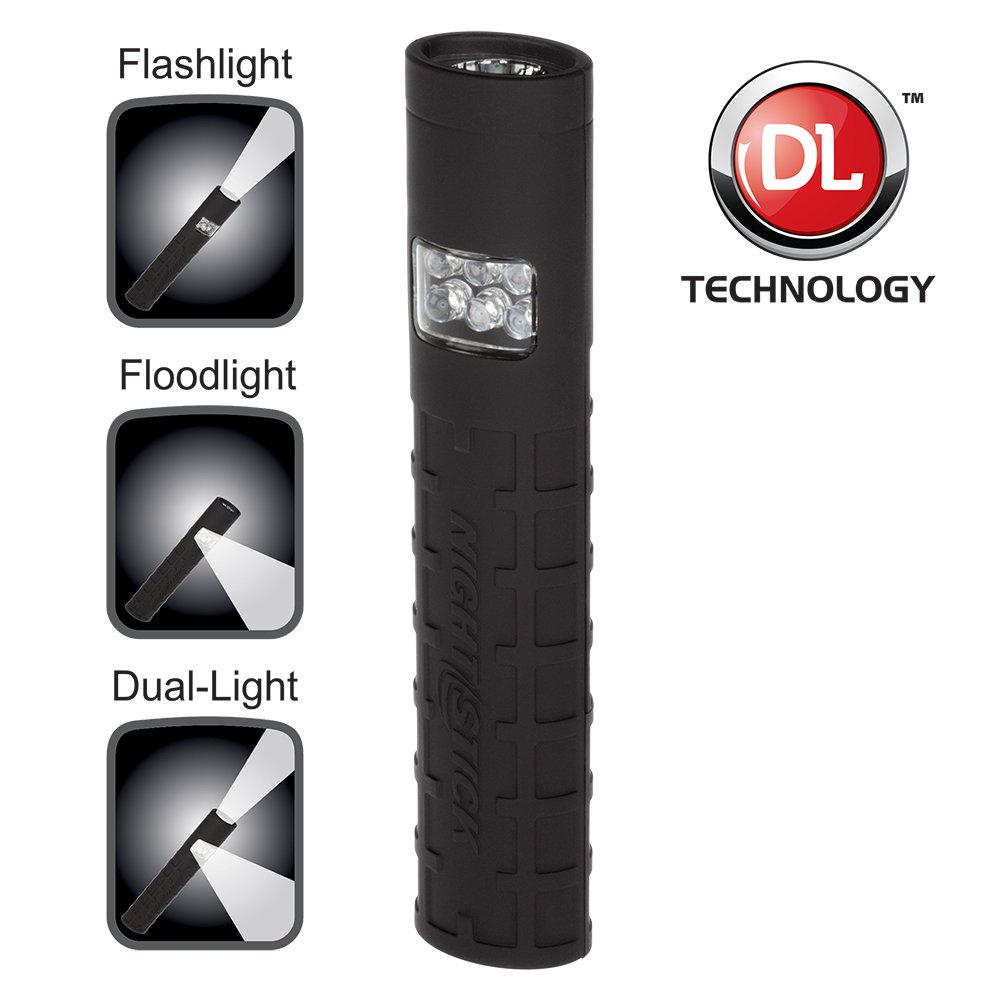 Safety Products Inc - Dual-Switch Dual-Light™ LED Flashlight -