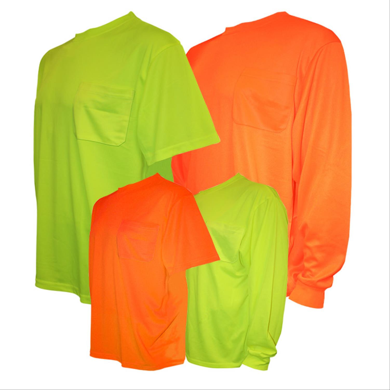 Cor-Brite™ Hi-Vis Shirts, Type O Non-Rated