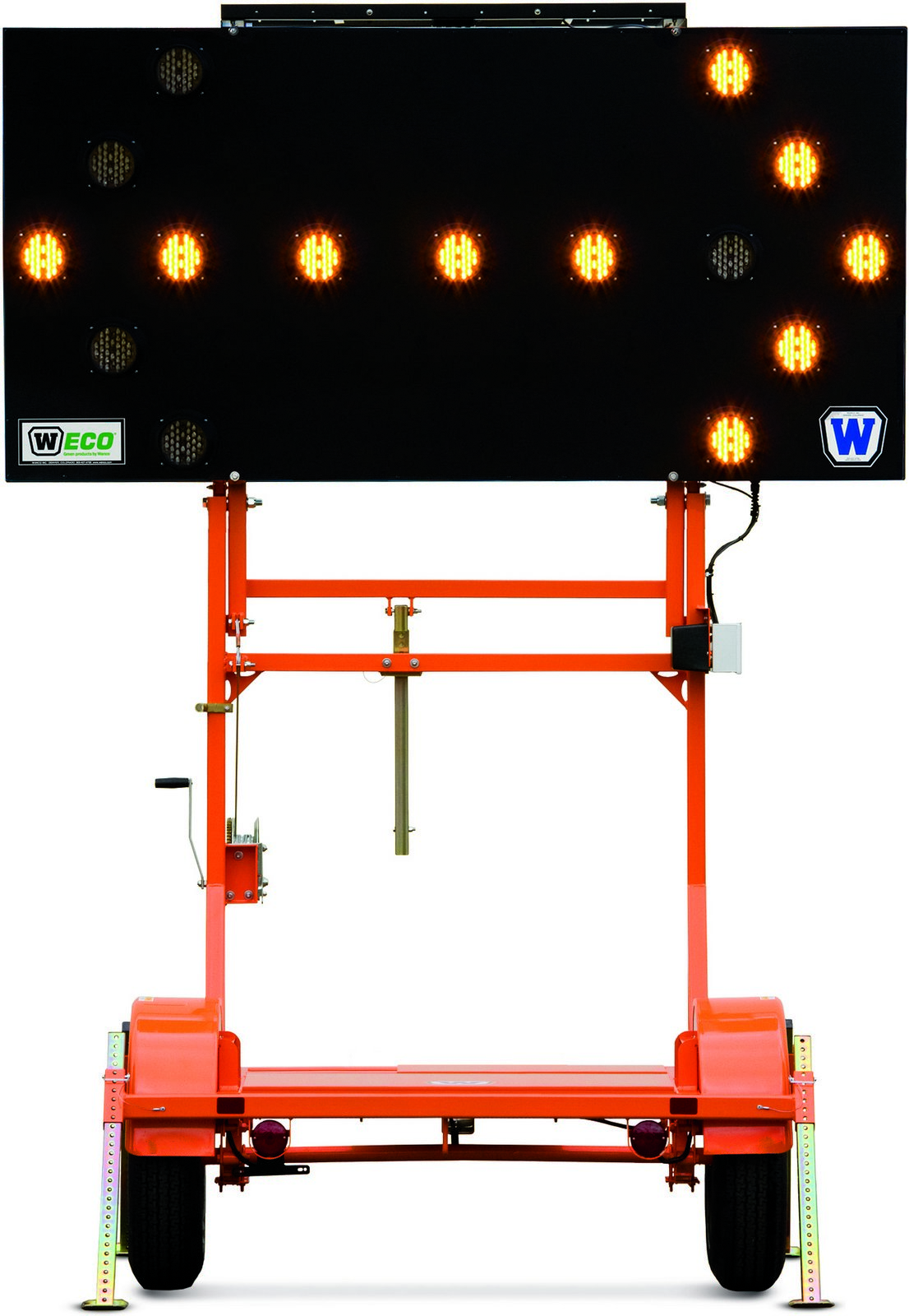Arrow Board Folding Trailer
