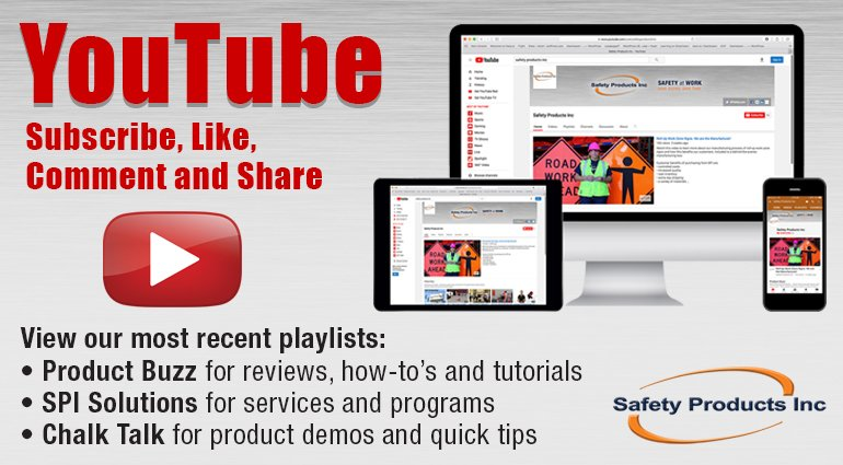 Safety Products Inc. YouTube Channel