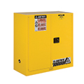 Safety cabinets help you safely store fuels, chemicals and solvents to reduce the risk of fire, and protects life and property. Choose from a variety of cabinet sizes and configurations.
